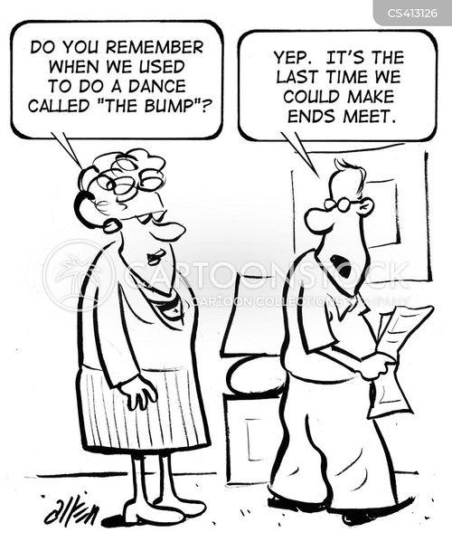 making ends meet cartoon