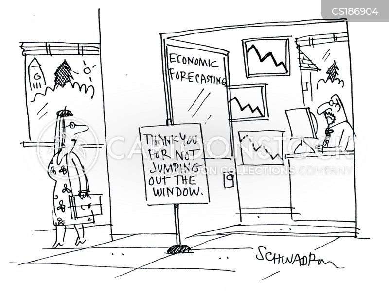 economic forecast cartoon