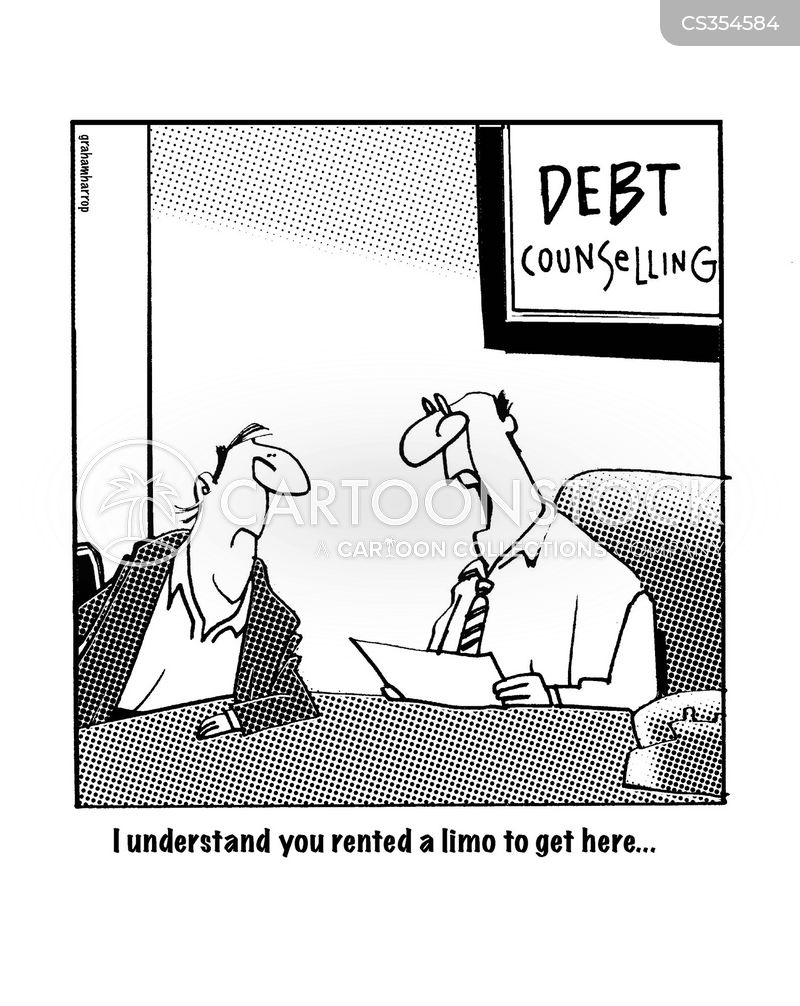 debt advice cartoon