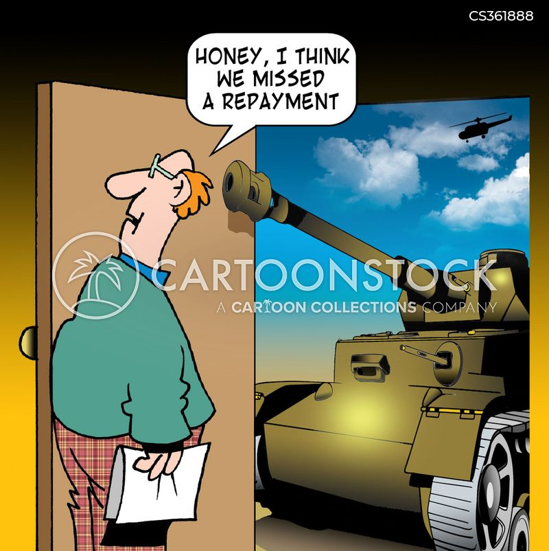 Debt Collection Cartoons And Comics Funny Pictures From Cartoonstock