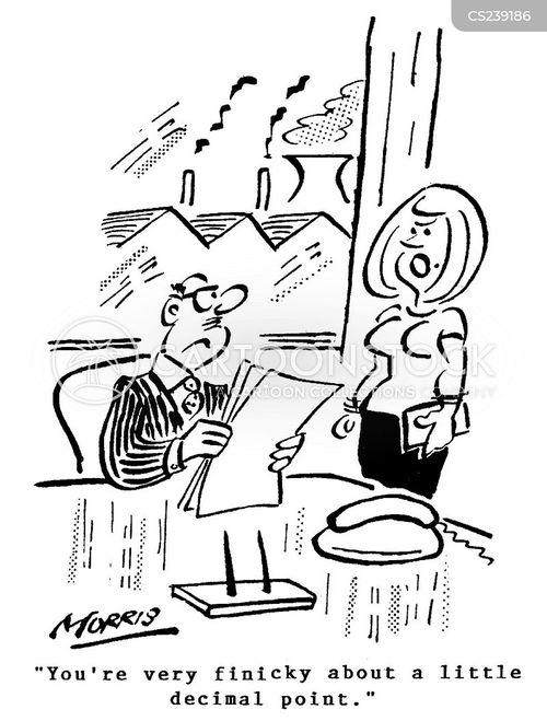 fiddling cartoon