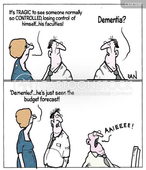 alzheimers disease cartoon