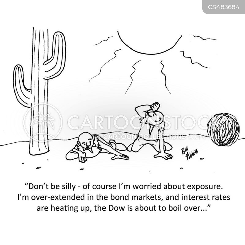 sun stroke cartoon