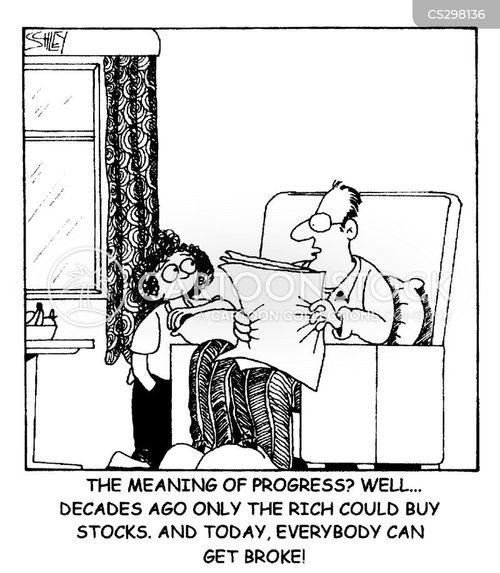 distribution cartoon