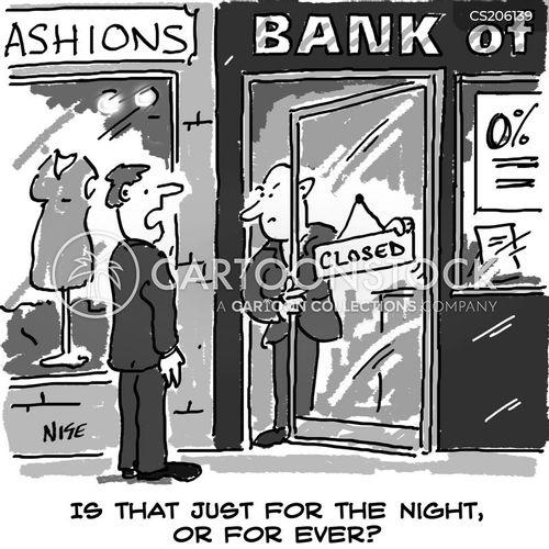 credit crisis cartoon