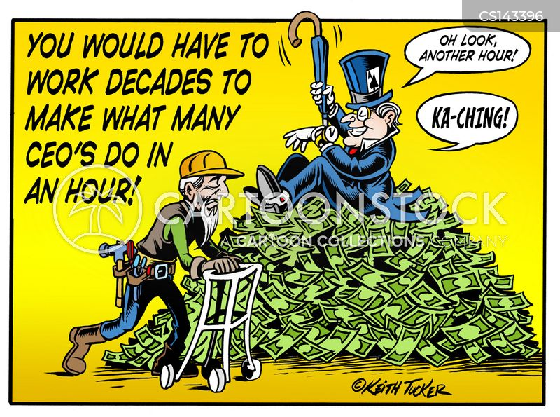 income disparity cartoon
