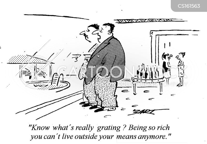 richness cartoon