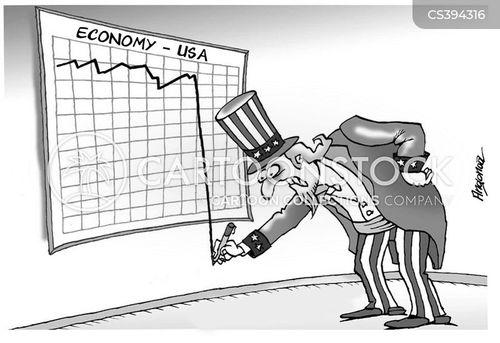 dow jones industrial average cartoon