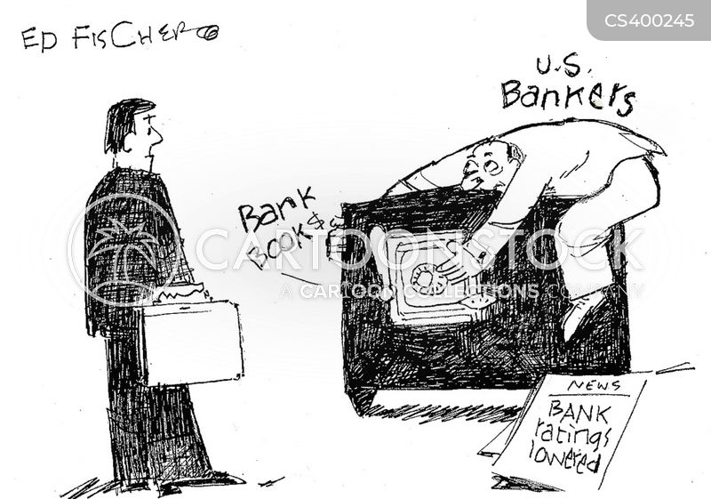 american bank cartoon