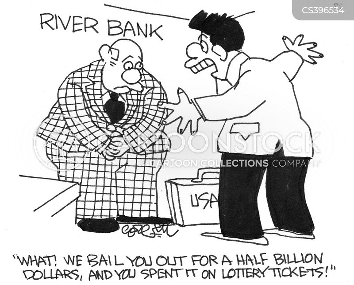 american banks cartoon