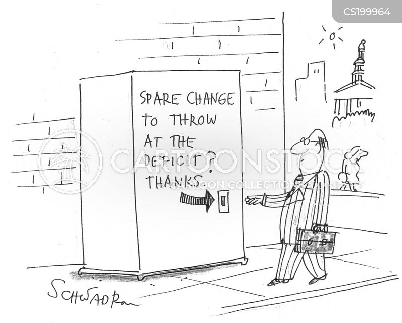 spare change cartoon