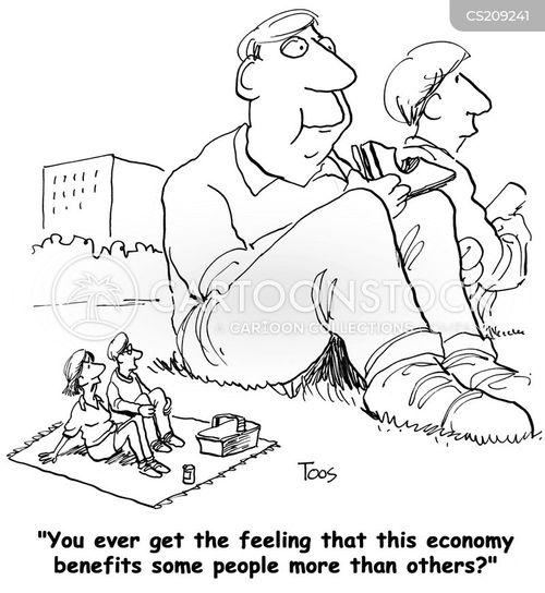 affluence cartoon