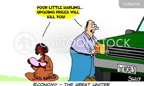 saving fuel cartoon