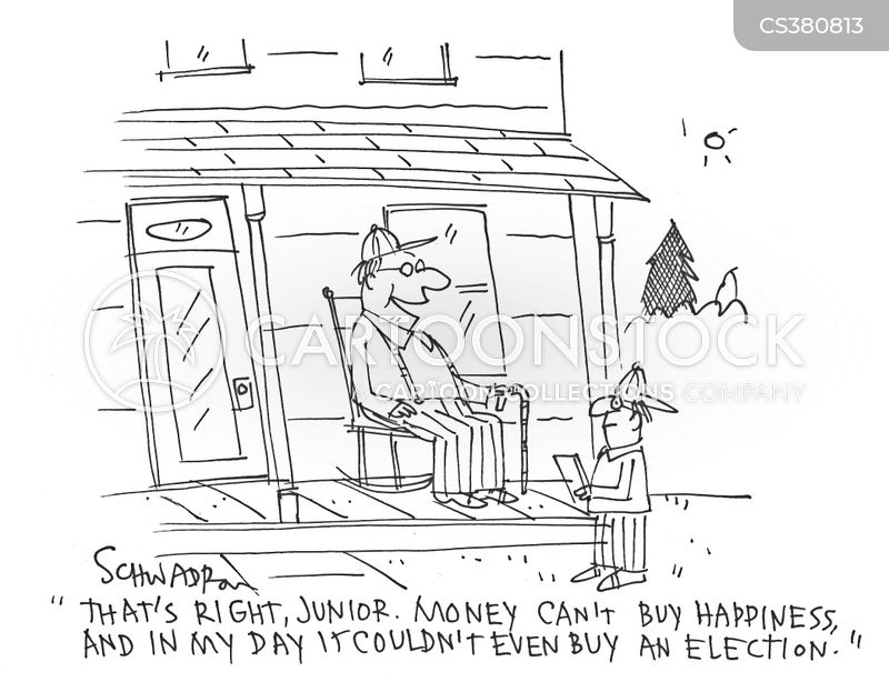 campaign funds cartoon