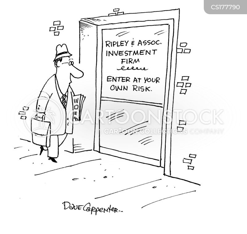 enter at your own risk cartoon
