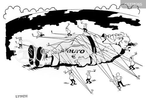 single currency cartoon