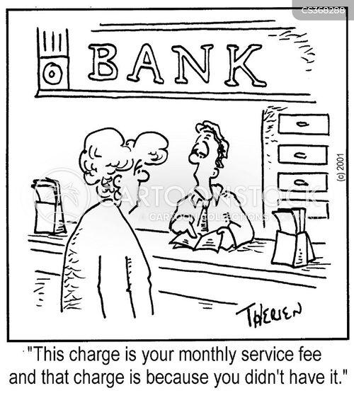 overcharging cartoon
