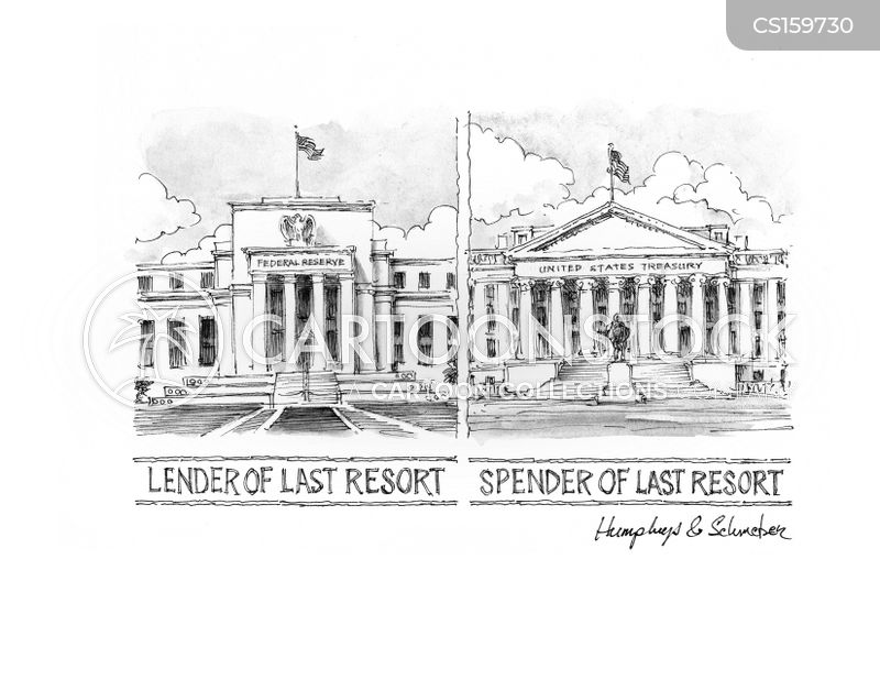 us federal reserve cartoon