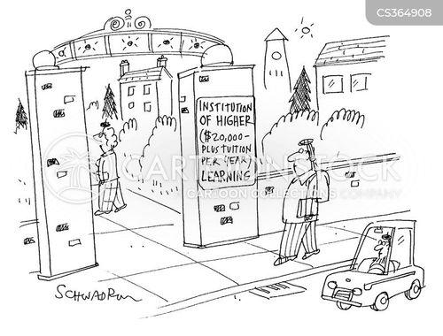 inaccessible cartoon