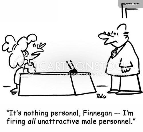 female bosses cartoon