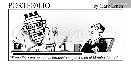 economic forecasters cartoon