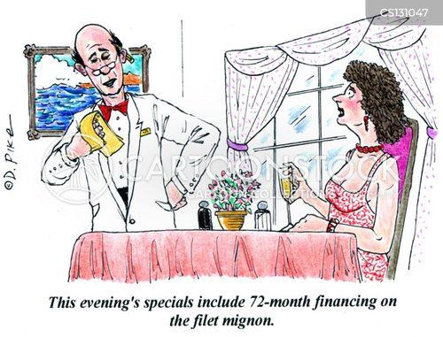 specials menu cartoon