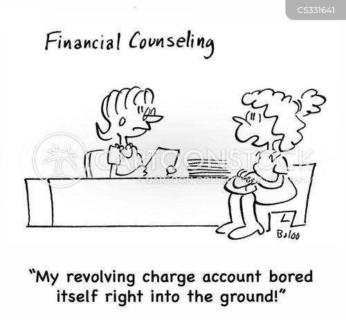 financial counseling cartoon