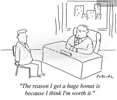 finance sector cartoon