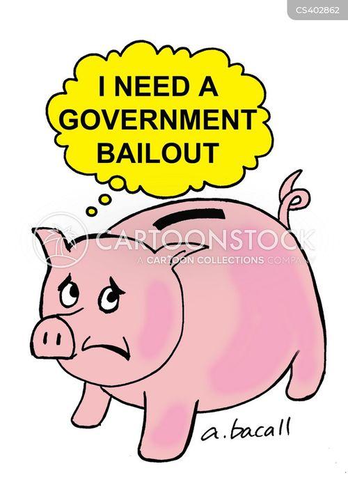 piggybank cartoon