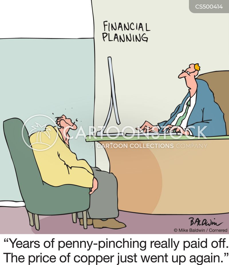 penny-pinchers cartoon