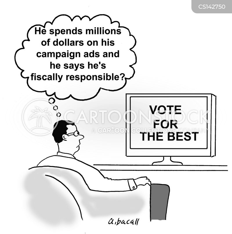 campaign ads cartoon