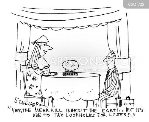 economic market cartoon