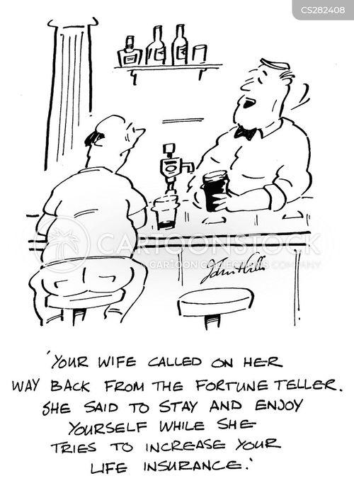 impending death cartoon