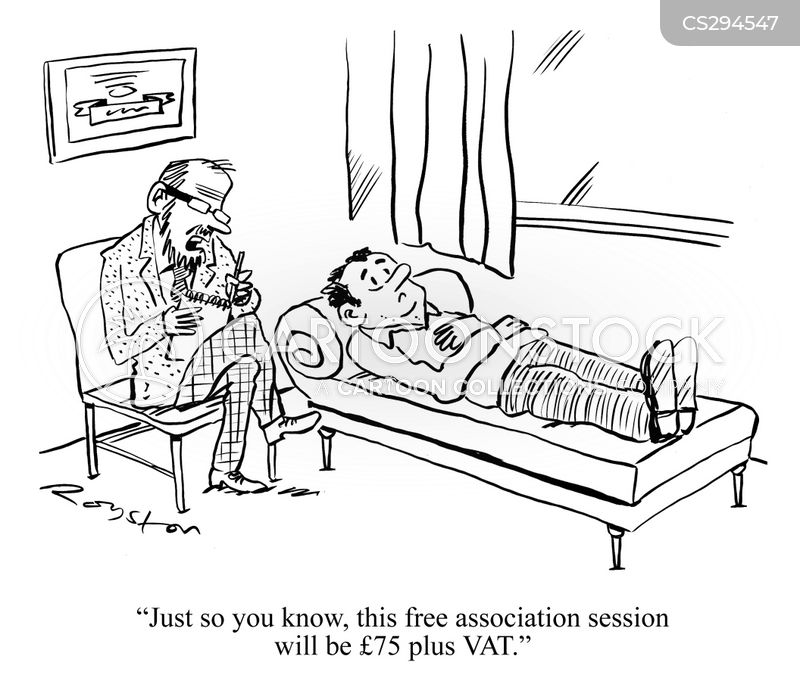 psychiatrists couch cartoon