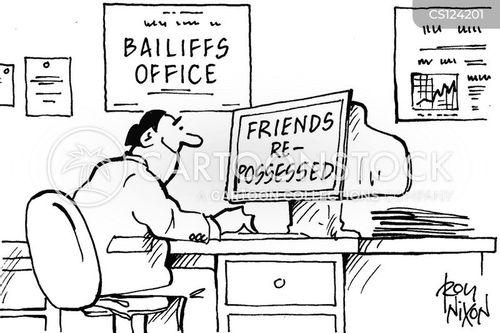 baliffs cartoon