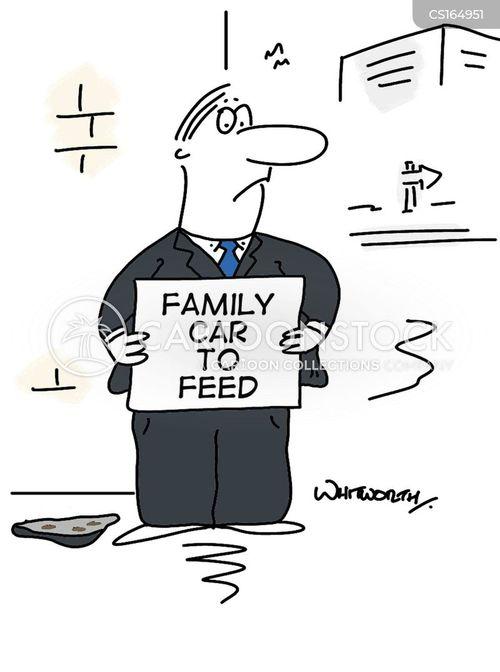 fuel price cartoon