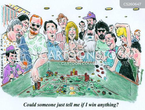 croupier cartoon