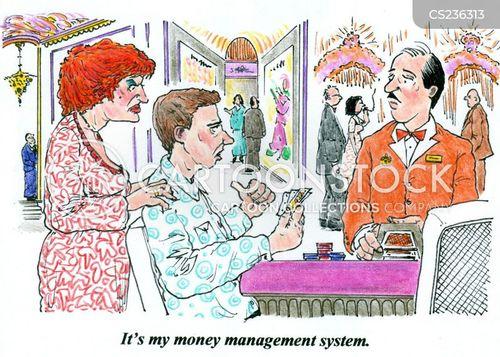 card tables cartoon