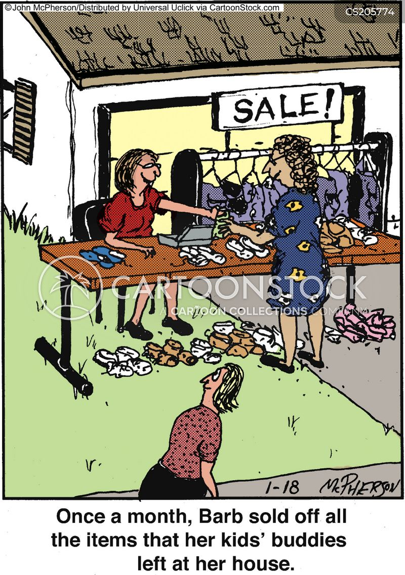 Yard Sale Cartoons And Comics Funny Pictures From