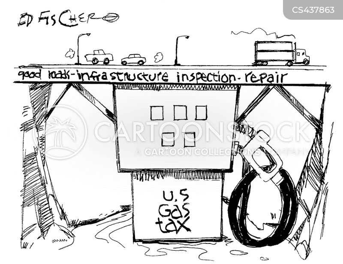 fuel tax cartoon