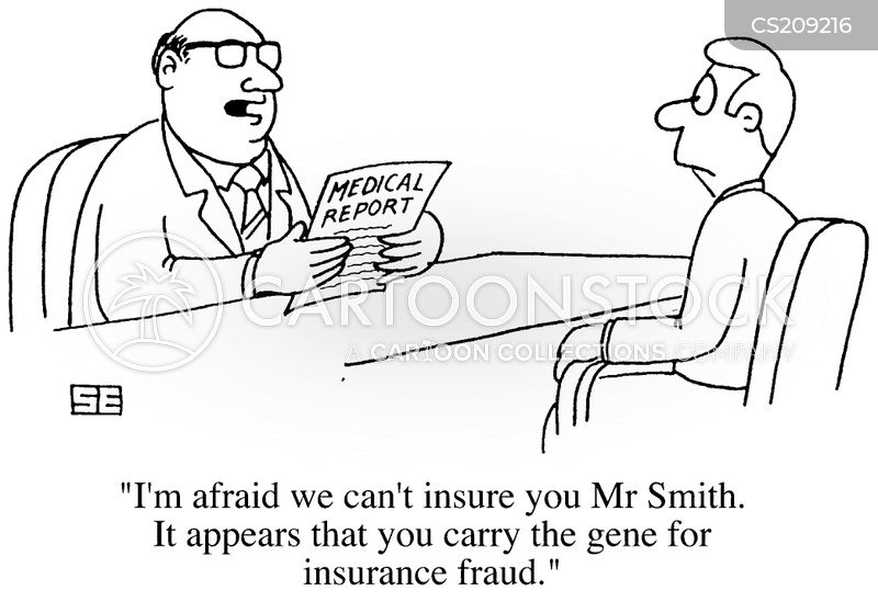 medical report cartoon