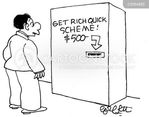 get rich quick cartoon