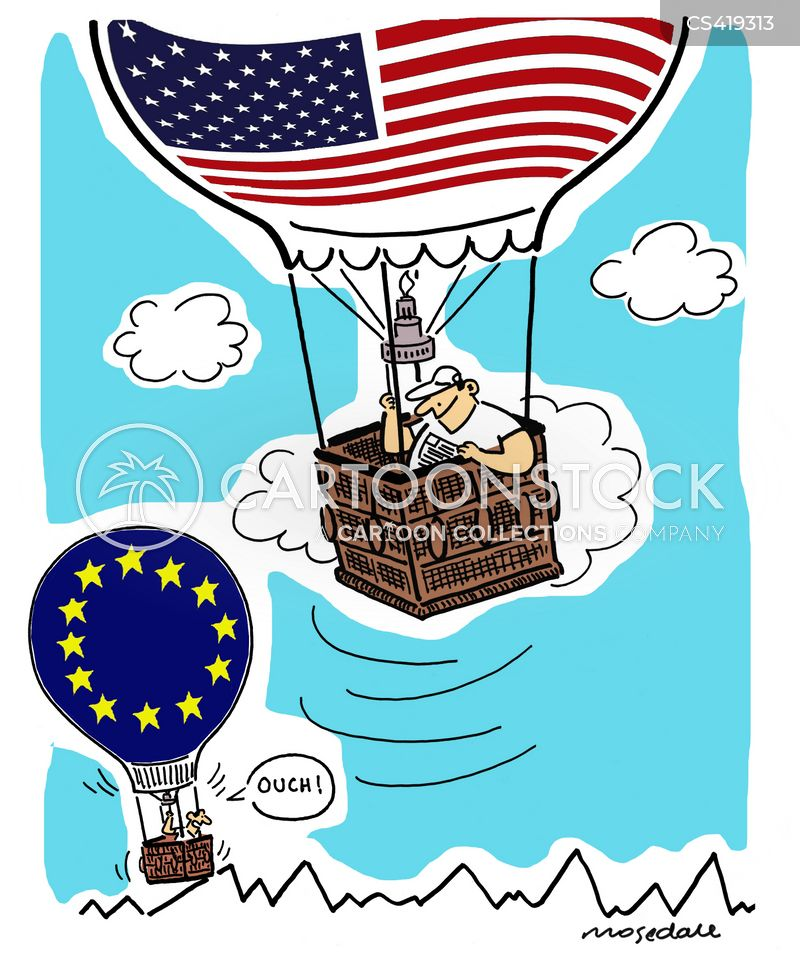 Dollar Vs Euro Cartoons And Comics Funny Pictures From Cartoonstock