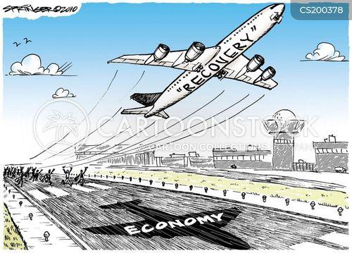economic disaster cartoon