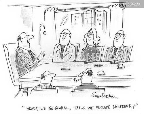 bankrupts cartoon