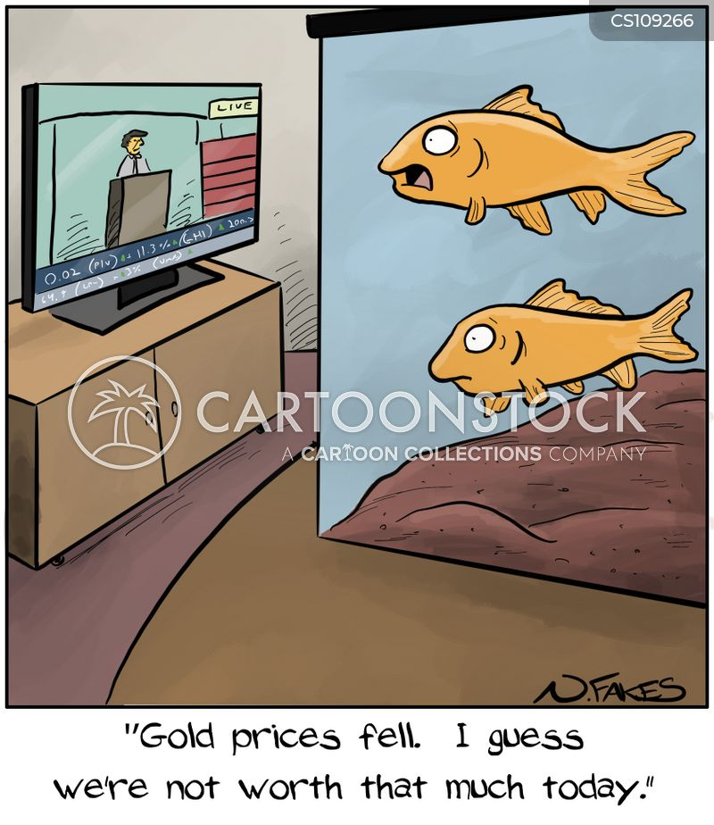 gold-fishes cartoon