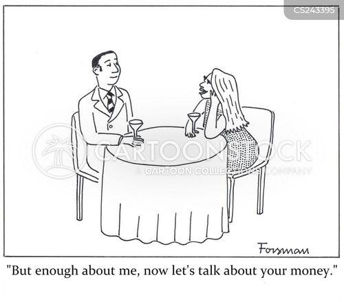 rich husbands cartoon