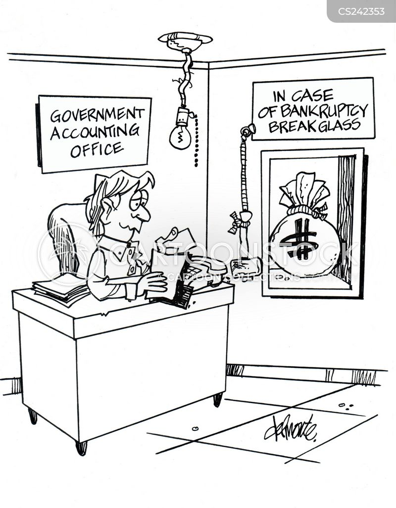 accounting office cartoon