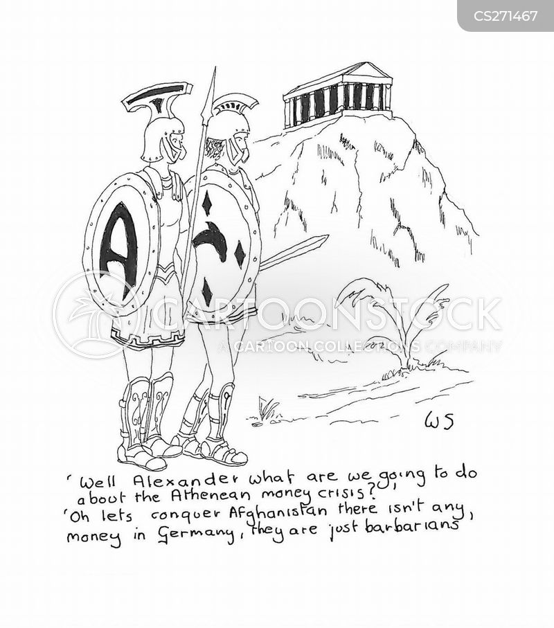 alexander the great cartoon
