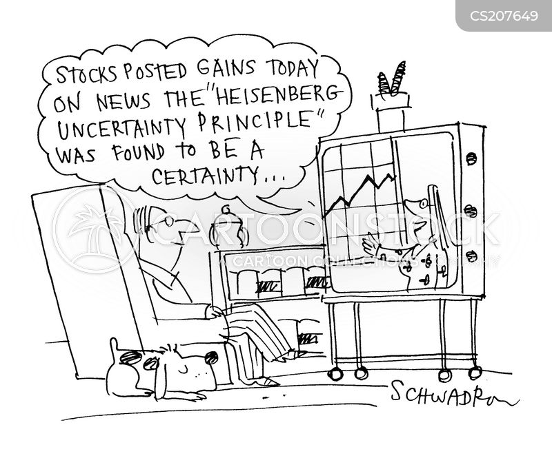 heisenberg uncertainty principle cartoon